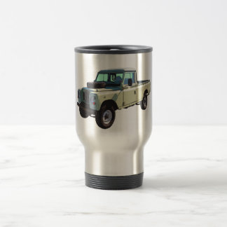 1971 Land Rover Pickup Truck Stainless Steel Travel Mug