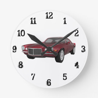 1972 Camaro: Wall Clock