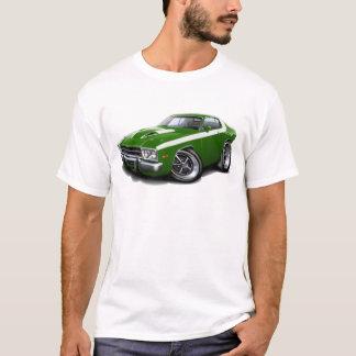 1973-74 Roadrunner Green-White Car T-Shirt