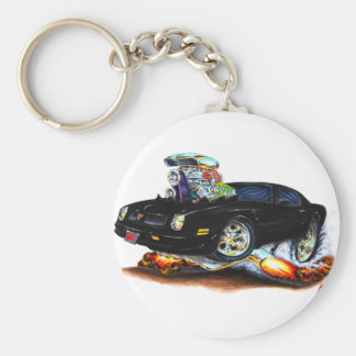 1974-76 Firebird Black Car Key Ring