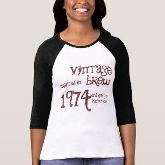 1974 Birthday Year 1974 Vintage Brew Template T-Shirt