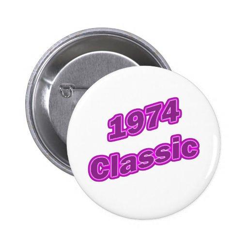 1974 Classic Purple Pin
