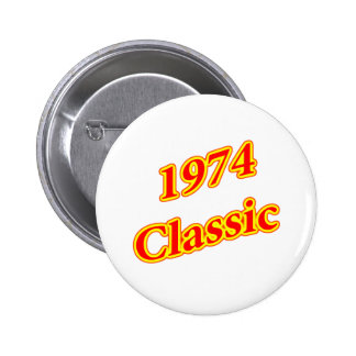 1974 Classic Red Button
