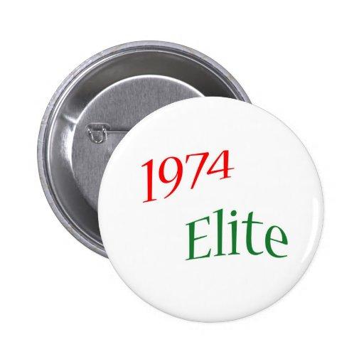 1974 Elite Button