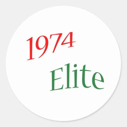 1974 Elite Sticker