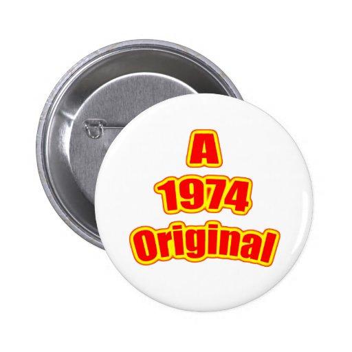 1974 Original Red Buttons