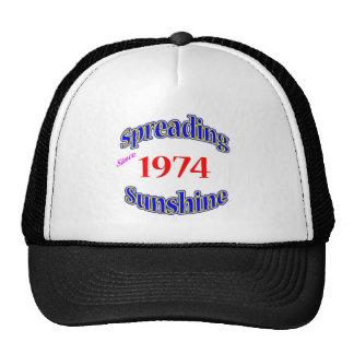 1974 Spreading Sunshine Trucker Hat