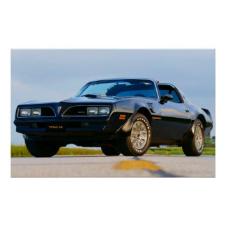 1978 Firebird Trans Am Poster