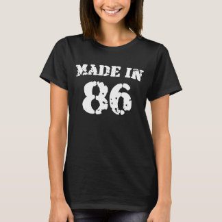1986 Made In 86 T-Shirt