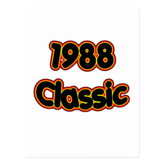 1988 Classic Postcard