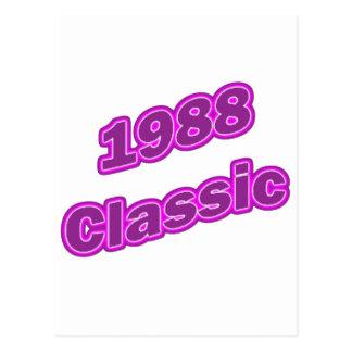1988 Classic Purple Post Cards