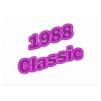 1988 Classic Purple Postcard