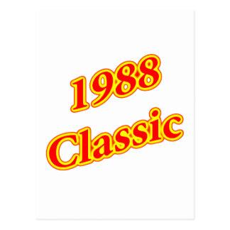 1988 Classic Red Postcard
