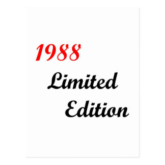 1988 Limited Edition Postcards