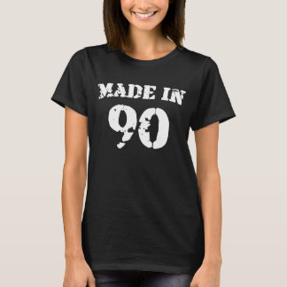 1990 Made In 90 T-Shirt
