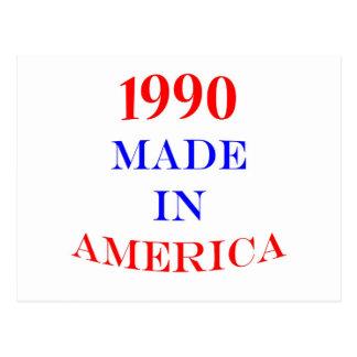 1990 Made in America Postcard
