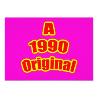 1990 Original Red Mag Invites