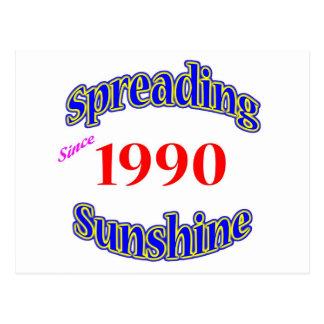 1990 Spreading Sunshine Postcards