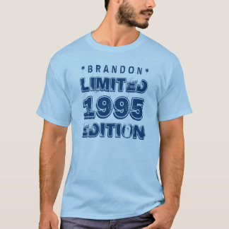1995 or Any Year Birthday Limited Edition 20th V06 T-Shirt