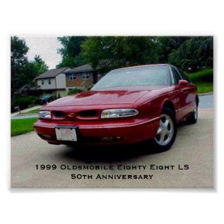 1999 Oldsmobile Eighty Eight LS Poster