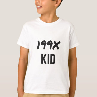 199X 90's Humor Generation Design Apparel Tshirt