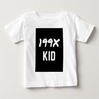 199X Ninety's Generation X Illustration Design Baby T-Shirt