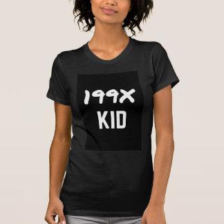 199X Ninety's Generation X Illustration Design T Shirts