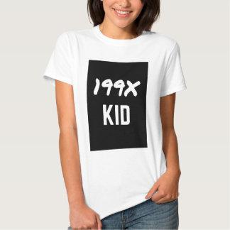 199X Ninety's Generation X Illustration Design Tee Shirt