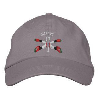 1-17th Cavalry Afghanistan Crossed Sabers Hat
