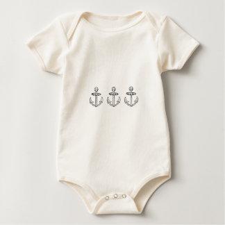 1, 2, 3 Set Sail! Baby Bodysuit