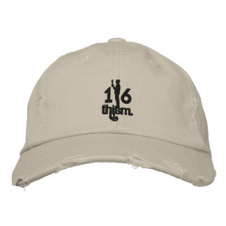 1/6thism_logo_01 embroidered hat