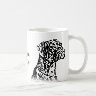 #1 Boxer Mom Boxer mug