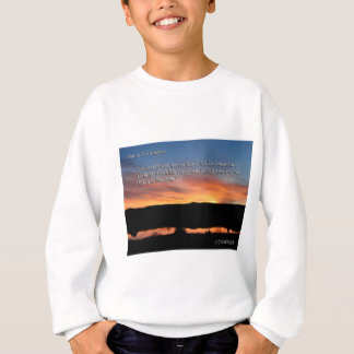 1 Corinthians 2:9 Lake Scott Sunset Sweatshirt