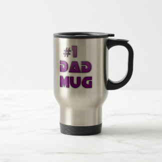 #1 DAD BIRTHDAY AND FATHER'S DAY COFFEE MUGS