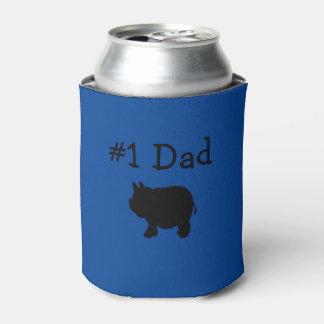 #1 Dad, Black Mini Pig