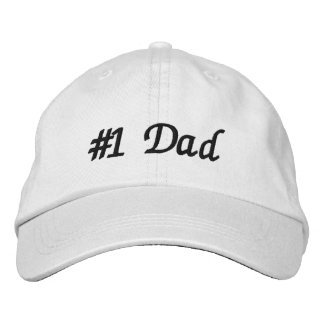 #1 Dad Embroidered Hats
