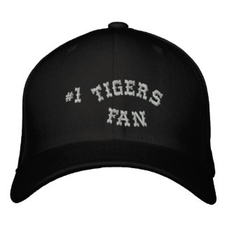 #1 Fan Black and Silver Basic Flexfit Wool Embroidered Hat