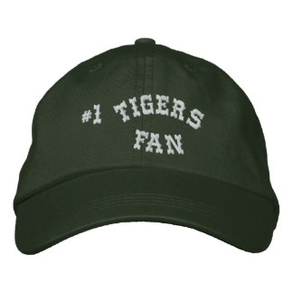 #1 Fan Green and White Basic Flexfit Wool Embroidered Baseball Caps