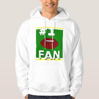 #1 Football Fan Lemon and Lime Sweatshirt