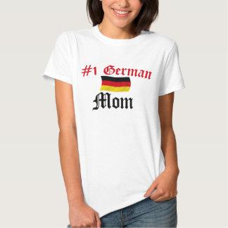 #1 German Mom Tee Shirts