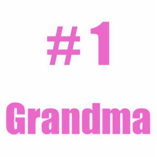 #1 grandma standing photo sculpture