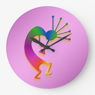1 Kokopelli #31 Large Clock