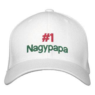 #1 Nagypapa Custom Baseball Cap