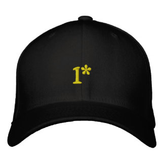 1* - POLICE SWAT HAT - Customized Embroidered Baseball Caps