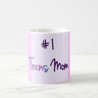 #1 Trans Mom Basic White Mug