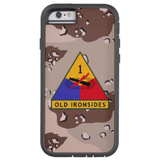 "1st Armored Division ""Old Ironsides"" Desert Camo Tough Xtreme iPhone 6 Case"