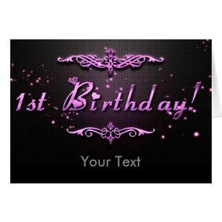 1st Birthday Card