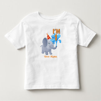 1st Birthday Elephant Toddler T-Shirt