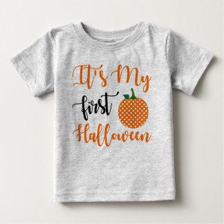1st Birthday Girl Pumpkin Baby T-Shirt