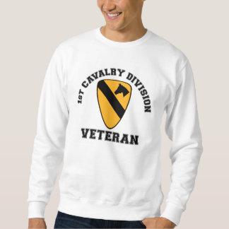1st Cav Vet - College Style Sweatshirt